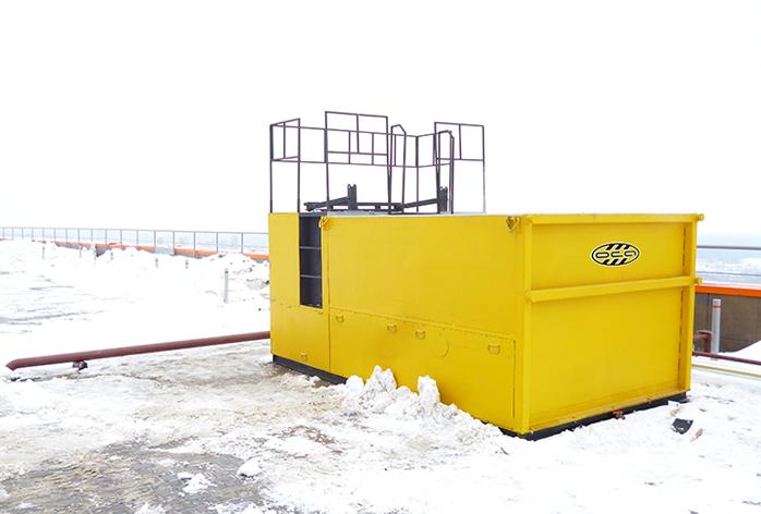 Снегоплавильная установка ОСА
